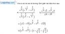 Bài 2.3 trang 100 SBT giải tích 12