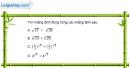 Bài 2.5 trang 100 SBT giải tích 12