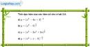 Bài 2.7 trang 104 SBT giải tích 12