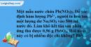Bài 4.8 trang 7 SBT hóa học 11