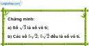 Bài 53 trang 13 SBT toán 9 tập 1