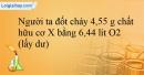 Bài 12.16 trang 26 SBT Hóa học 12