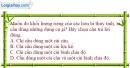 Bài 11.1 trang 38 SBT Vật lí 6