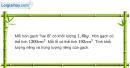 Bài 11.5 trang 38 SBT Vật lí 6