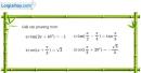 Bài 1.16 trang 24 SBT đại số và giải tích 11
