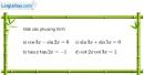 Bài 1.17 trang 24 SBT đại số và giải tích 11