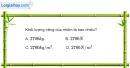 Bài 11.7 trang 38 SBT Vật lí 6