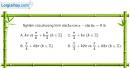 Bài 1.21 trang 25 SBT đại số và giải tích 11