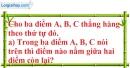 Bài 25 trang 127 SBT toán 6 tập 1