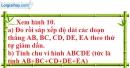 Bài 38 trang 131 SBT toán 6 tập 1