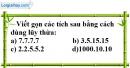 Bài 86 trang 16 SBT toán 6 tập 1