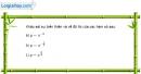 Bài 2.8 trang 104 SBT giải tích 12