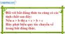Bài 101 trang 82 SBT toán 6 tập 1