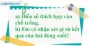 Bài 7.4 phần bài tập bổ sung trang 80 SBT toán 6 tập 1