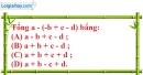 Bài 8.1 phần bài tập bổ sung trang 81 SBT toán 6 tập 1