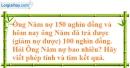 Bài 88 trang 80 SBT toán 6 tập 1