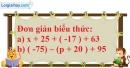 Bài 90 trang 80 SBT toán 6 tập 1