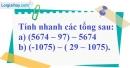 Bài 91 trang 80 SBT toán 6 tập 1