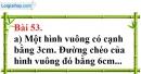 Bài 53 trang 133 Vở bài tập toán 8 tập 1