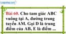 Bài 60 trang 138 Vở bài tập toán 8 tập 1