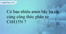Bài 12.1;12.2;12.3;12.4;12.5;12.6 trang 24 SBT Hóa học 12