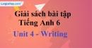 Writing - trang 31 Unit 4 SBT tiếng Anh lớp 6 mới