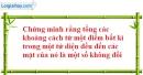 Bài 1.13 trang 18 SBT hình học 12