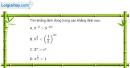 Bài 2.13 trang 104 SBT giải tích 12