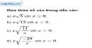 Bài  57 trang 14 SBT toán 9 tập 1