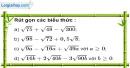 Bài 58 trang 14 SBT toán 9 tập 1