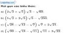 Bài 59 trang 14 SBT toán 9 tập 1