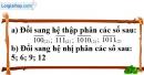 Bài 113 trang 19 SBT toán 6 tập 1
