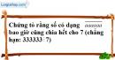 Bài 120 trang 21 SBT toán 6 tập 1