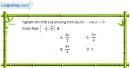 Bài 1.24 trang 25 SBT đại số và giải tích 11