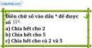 Bài 125 trang 21 SBT toán 6 tập 1