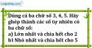 Bài 129 trang 22 SBT toán 6 tập 1