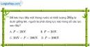 Bài 13.1 trang 42 SBT Vật lí 6