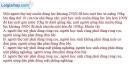 Bài 13.10 trang 43 SBT Vật lí 6