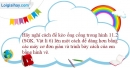 Bài 13.4 trang 42 SBT Vật lí 6