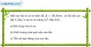 Bài 2.14 trang 8 SBT Vật Lí 12