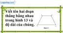 Bài 42 trang 132 SBT toán 6 tập 1