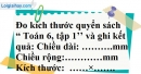 Bài 43 trang 132 SBT toán 6 tập 1