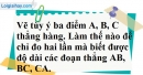 Bài 44 trang 133 SBT toán 6 tập 1