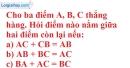Bài 47 trang 134 SBT toán 6 tập 1