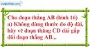 Bài 55 trang 135 SBT toán 6 tập 1