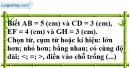 Bài 7.2 phần bài tập bổ sung trang 132 SBT toán 6 tập 1