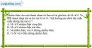 Bài 1.1, 1.2, 1.3 trang 3 SBT Vật Lí 11