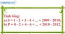 Bài 10.2 phần bài tập bổ sung trang 85 SBT toán 6 tập 1