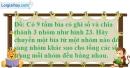 Bài 109 trang 83 SBT toán 6 tập 1