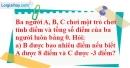 Bài 110 trang 83 SBT toán 6 tập 1